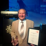 Malcolm Banham Honoured by BWF
