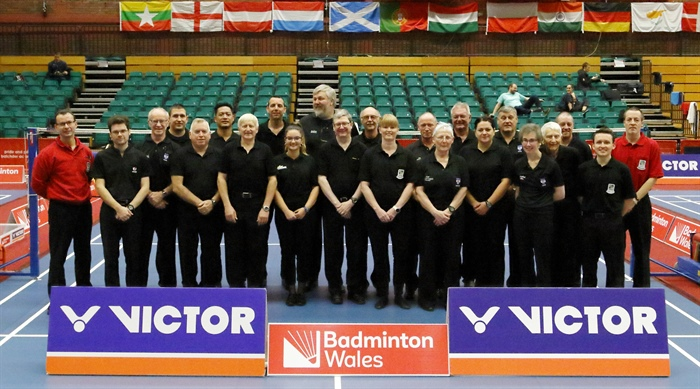A plethora of umpires travel to Wales!